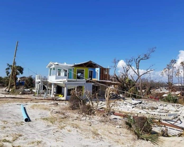 hurricane michael damage in mexico beach 2 - Photo Courtesy of David Gieseking