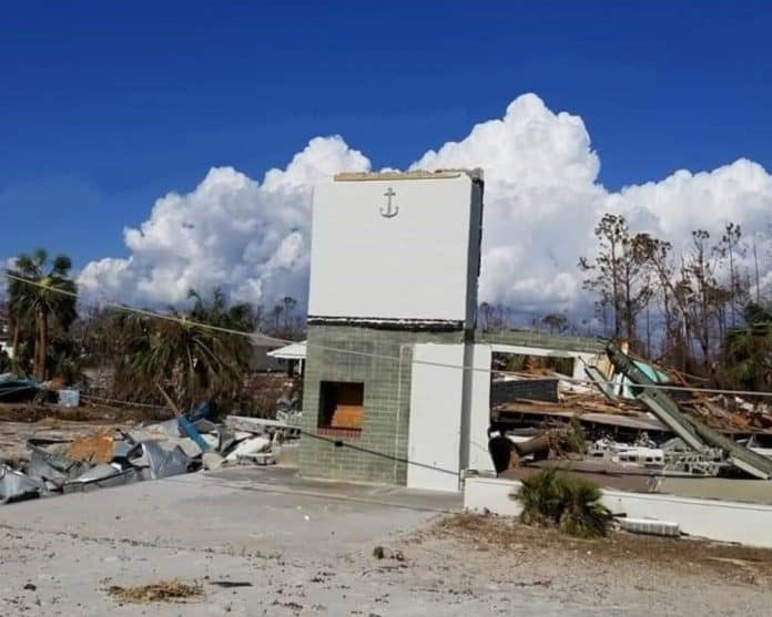 hurricane michael damage in mexico beach - Photo Courtesy of David Gieseking