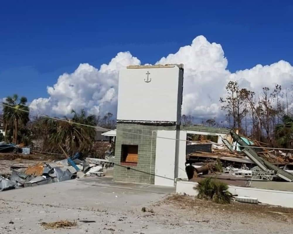 hurricane michael damage in mexico beach - Photo Courtesy of David Gieseking