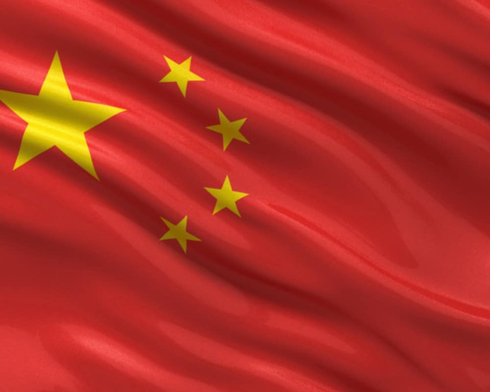 chinese flag_canstockphoto10130679