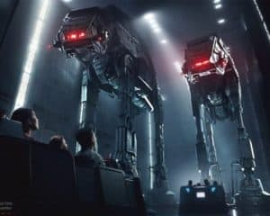 Disney's Star Wars Rise of the Resistance Ride