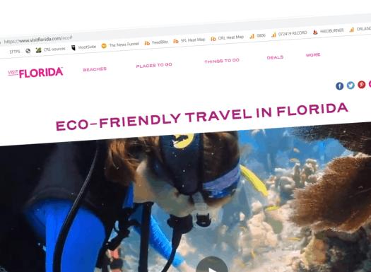visit florida eco friendly hub