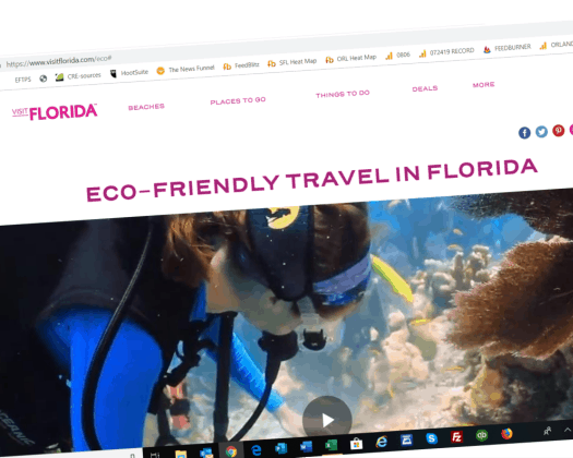 visit florida eco friendly hub