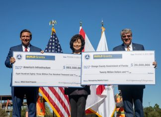 U.S. Transportation Sec. Elaine Chao-Build Grant