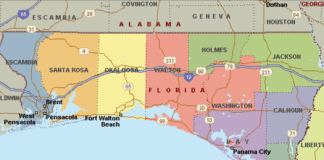 florida panhandle countie 525x420png