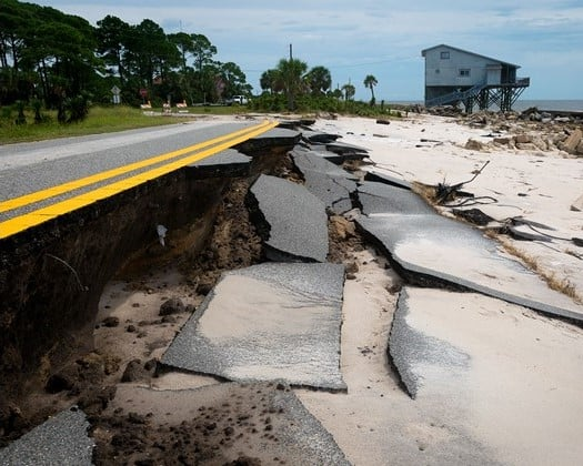 roads from hurricane michael_wltx 525x420