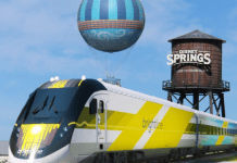 disney springs brightline 525x420
