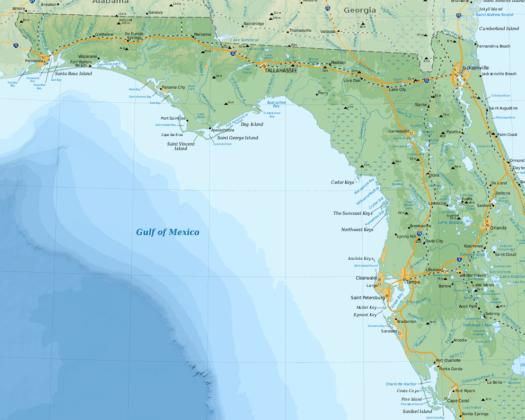 florida gulf coast 525x420