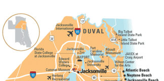 duval county florida 525x420