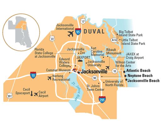 duval county florida 525x420