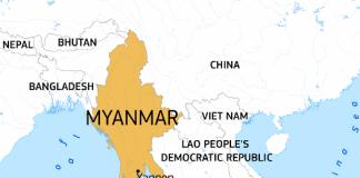myanmar map 525x420